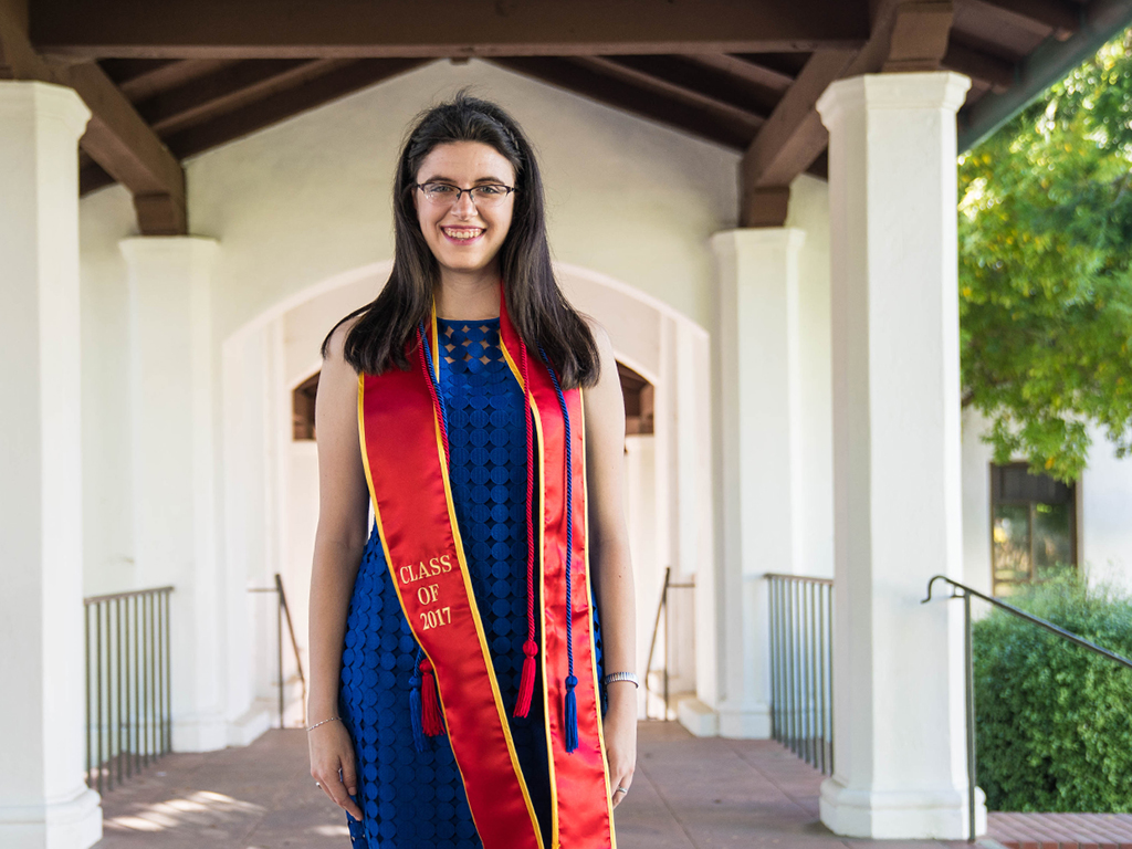 Triple-award winner Rosemary Cook '17 made the most of every SMC moment.