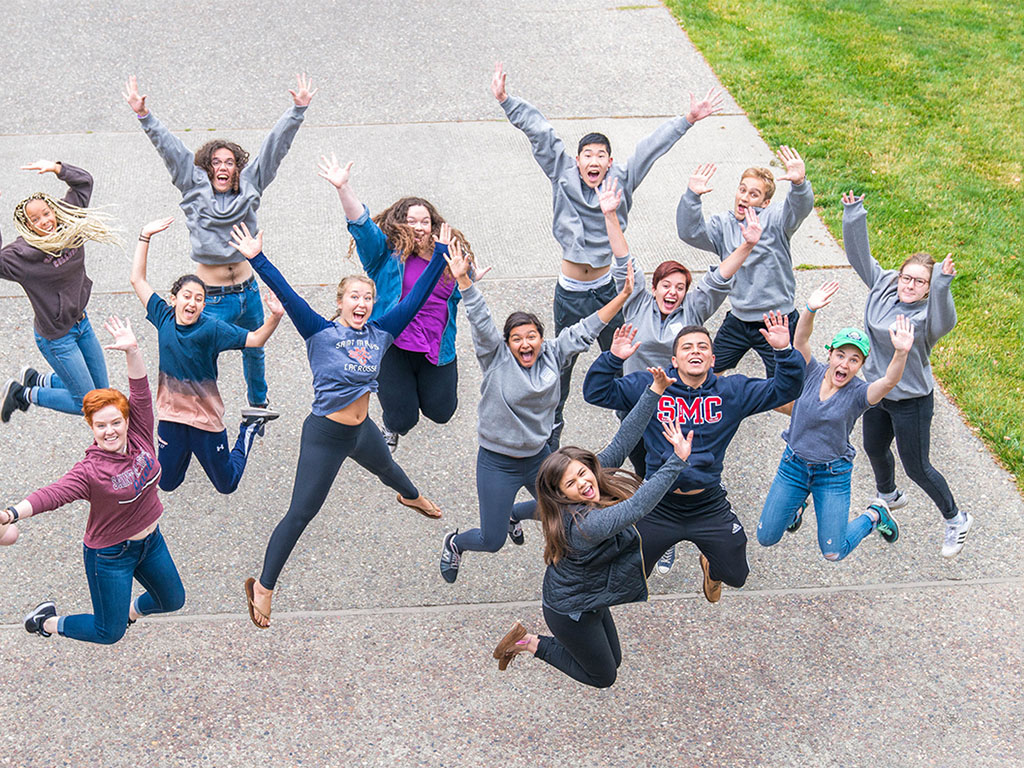 Orientation leaders jump into action to welcome first-year students and their families.
