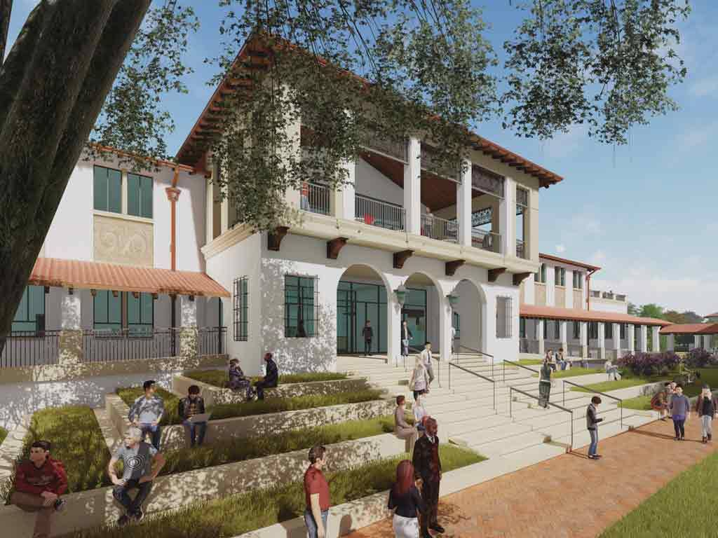 <p>Saint Mary's New Library & Learning Commons</p>