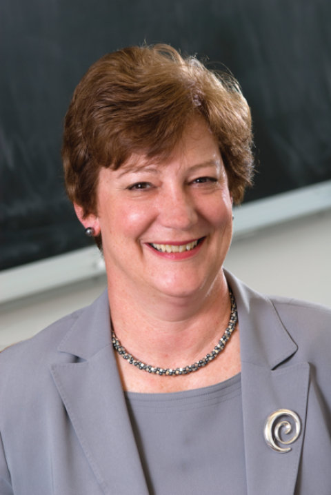 Susan H. Wallace, Saint Mary's newly appointed Vice President for Finance and Administration.